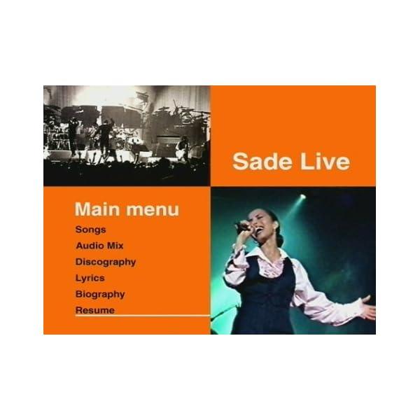 Sade Live [DVD] [Import]の紹介画像3