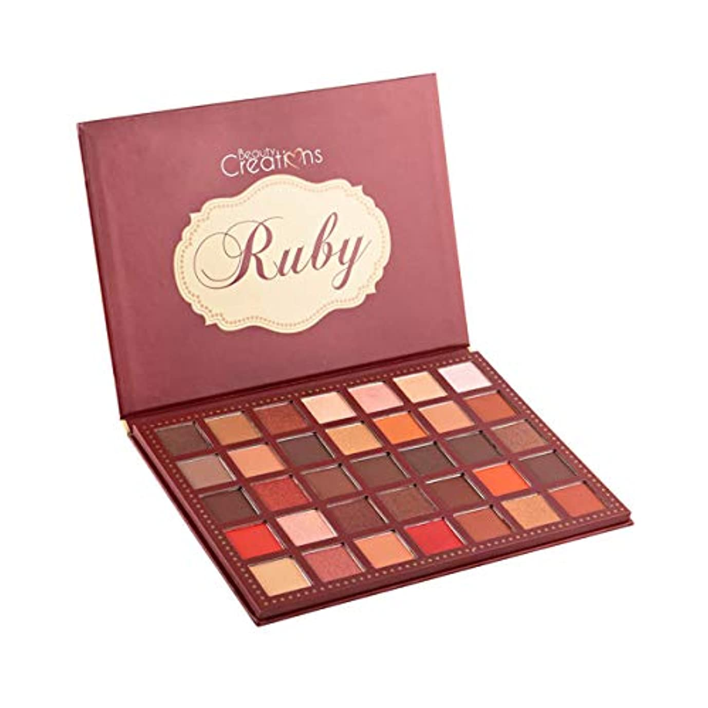 意義聖人腐食する(6 Pack) BEAUTY CREATIONS 35 Color Eyeshadow Palette - Ruby (並行輸入品)