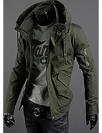Heaven Days(ヘブンデイズ) ミリタリージャケット ミリタリー M65 スリム きれいめ 長袖 メンズ 1610G0547
