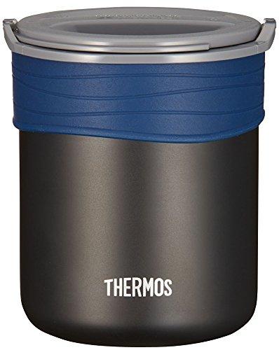 サーモス 保温ごはんコンテナー 約0.8合 ブラック JBP-360 BK