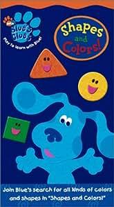 Blue's Clues: Shapes & Colors [VHS] [Import]