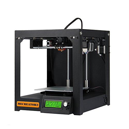 GIANTARM 3Dプリンター Me Creator 2 組み立て済み 家庭/オフィス向け デスクトップ3Dプリンター 金属フレーム PLA/ABS対応