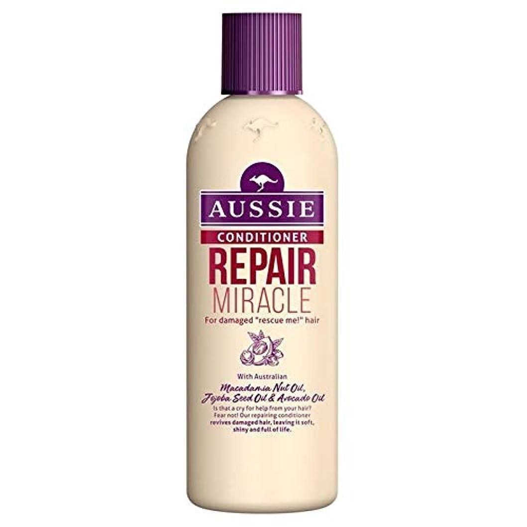 属する添加シェーバー[Aussie ] いたずらな髪の250ミリリットルのすべての種類のオージーエアコンの修理の奇跡 - Aussie Conditioner Repair Miracle for All Kinds of Naughty Hair 250ml [並行輸入品]