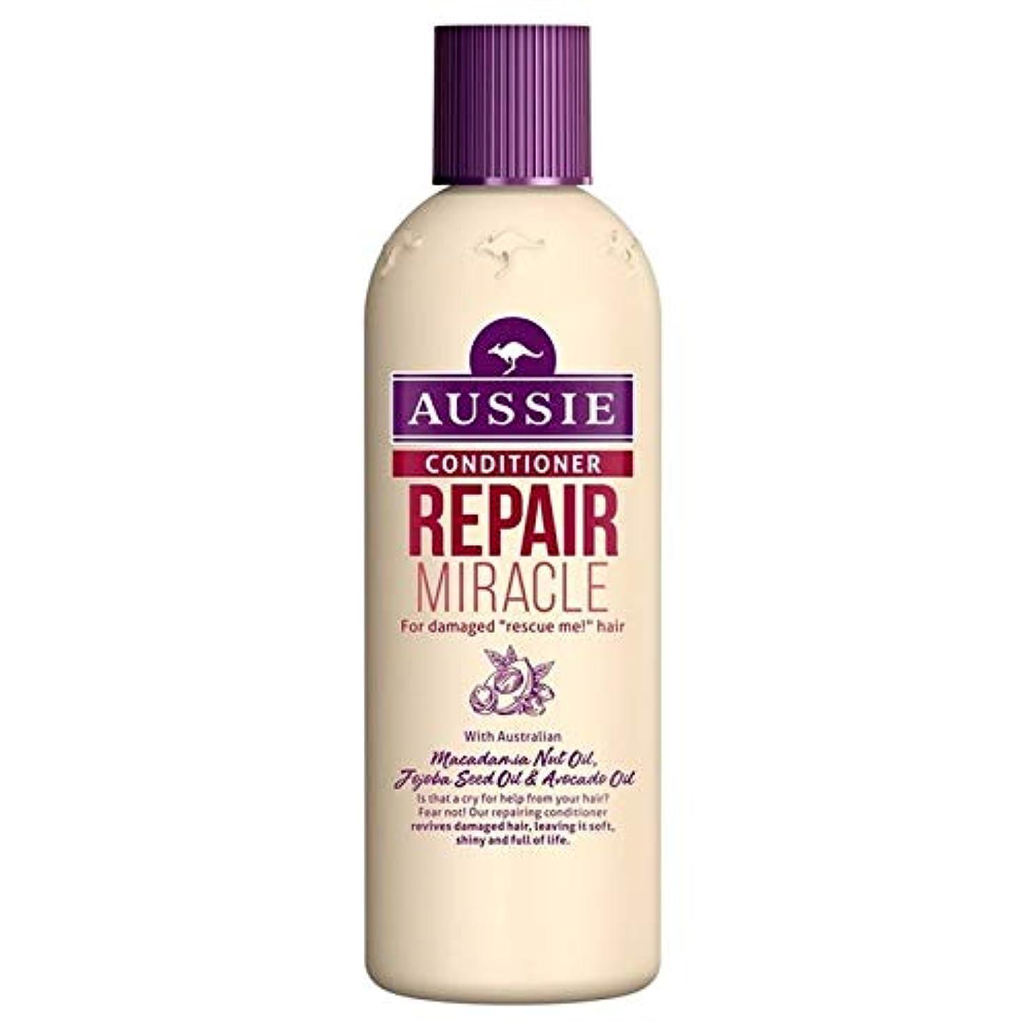 名義でまつげ塩[Aussie ] いたずらな髪の250ミリリットルのすべての種類のオージーエアコンの修理の奇跡 - Aussie Conditioner Repair Miracle for All Kinds of Naughty...