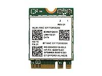 Broadcom BCM94371ZAE BCM4371E デュアルバンド 867Mbps 802.11a/b/g/n/ac WiFi + Bluetooth 4.1 NGFF M.2 無線LANカード