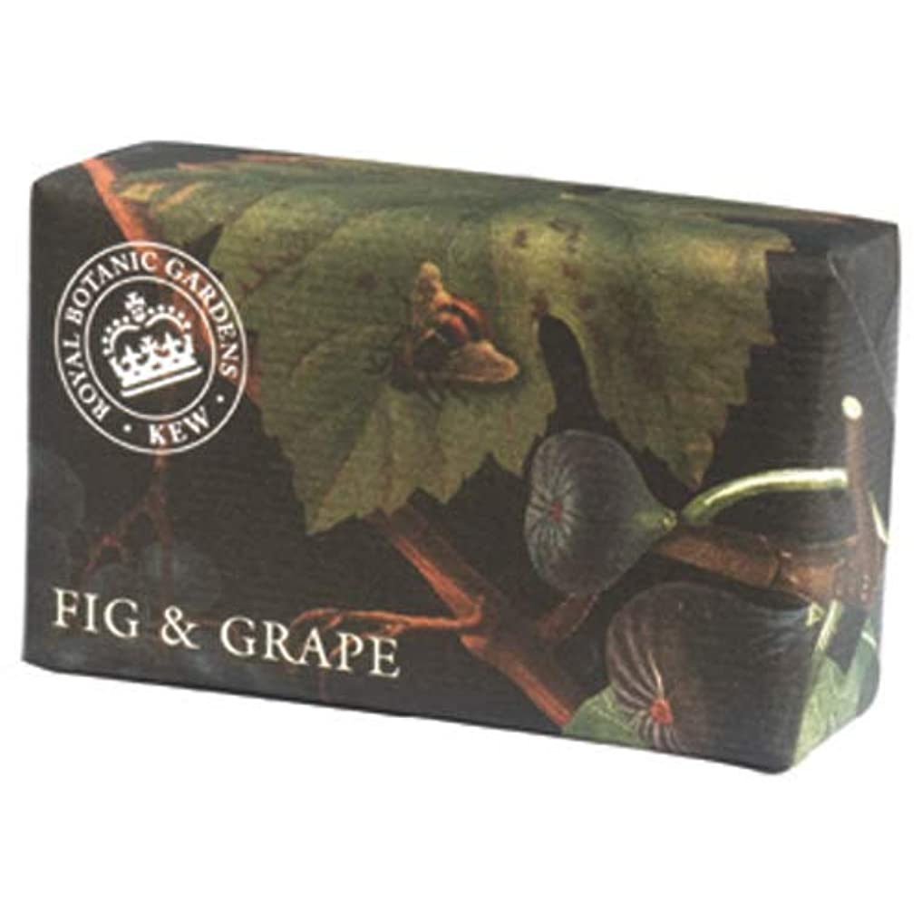 告白ガソリン許容できるEnglish Soap Company イングリッシュソープカンパニー KEW GARDEN キュー?ガーデン Luxury Shea Soaps シアソープ Fig & Grape フィグ&グレープ