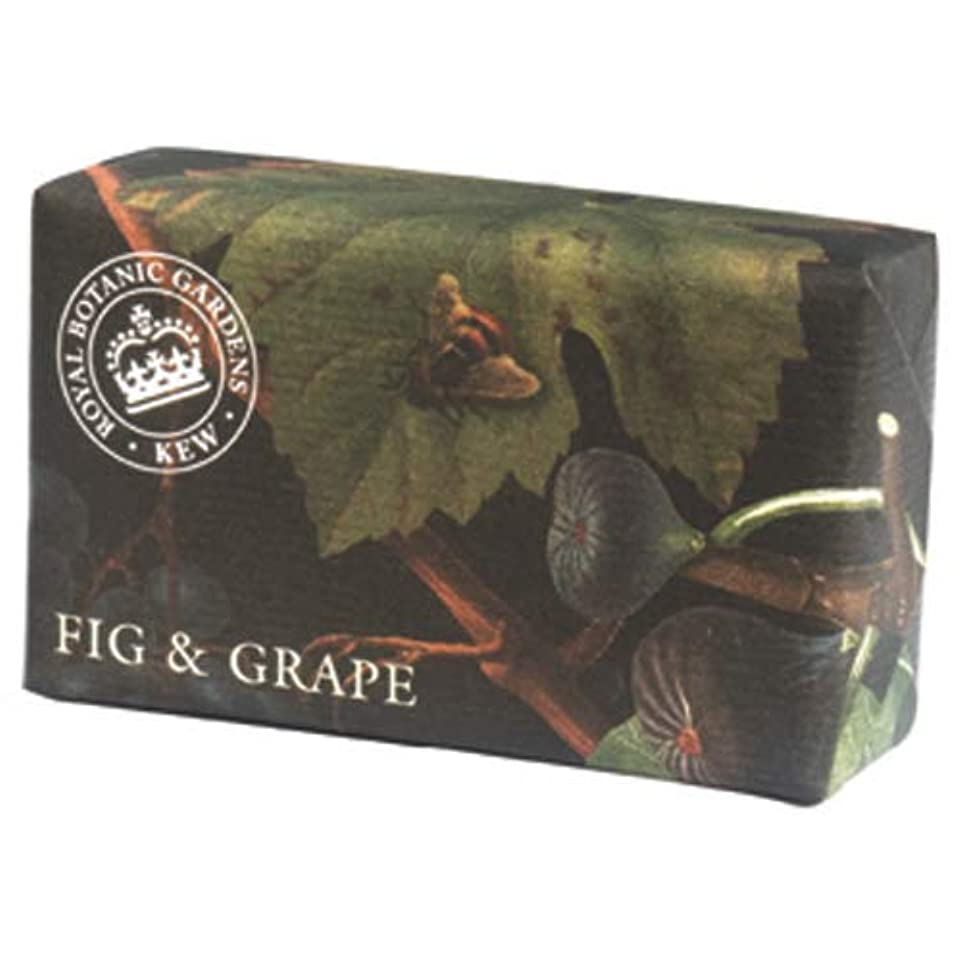 待つセグメントモバイル三和トレーディング English Soap Company イングリッシュソープカンパニー KEW GARDEN キュー?ガーデン Luxury Shea Soaps シアソープ Fig & Grape フィグ&グレープ
