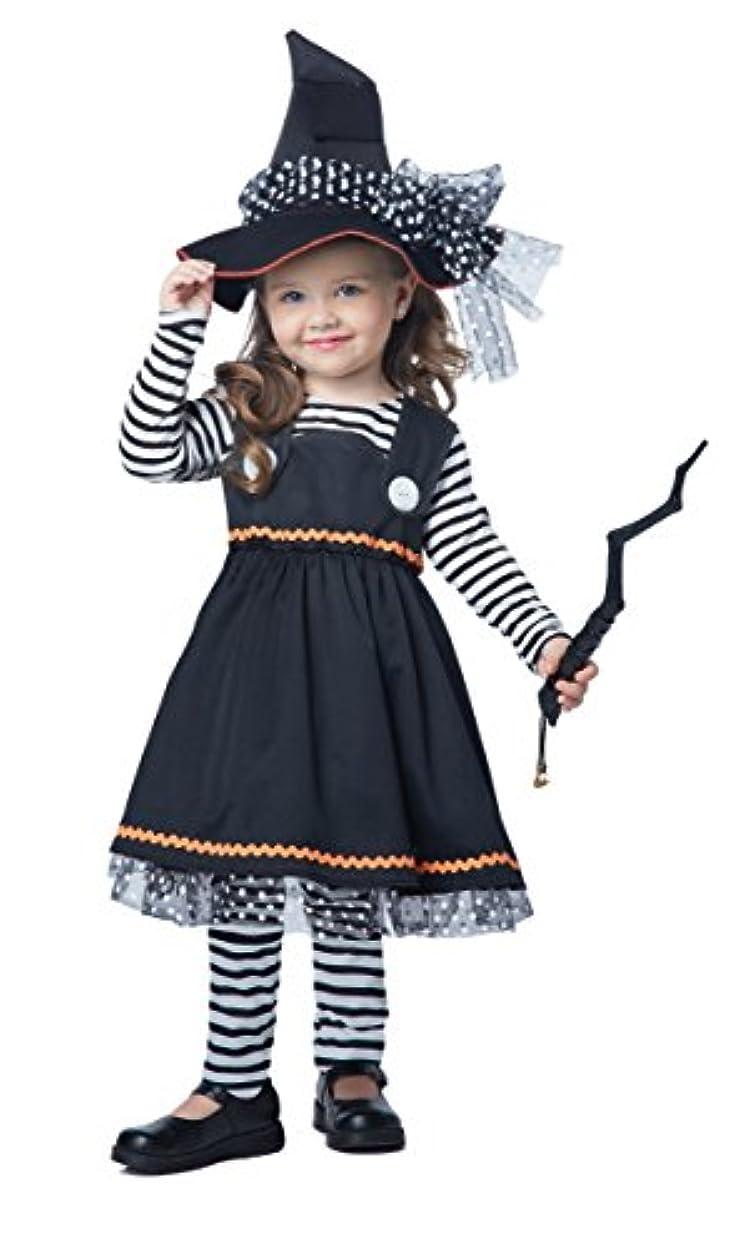 リル悲惨キラウエア山(Size 3-4) - California Costumes Crafty Little Witch Toddler Costume, Size 3-4