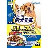 ユニ・チャーム(株) 愛犬元気 肥満が気になる7歳以上用 ささみ・ビーフ 6.0kg
