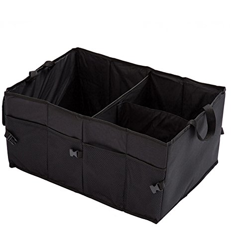 車用トランク 収納ボックス 車 収納ケース 折り畳み式 大容量 雑物整理 ブラック