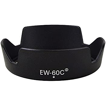 [MENGS] EW-60C II レンズフード, Canon EF 28-80mm f/3.5-5.6 / EF 28-80mm f/3.5-5.6 II USM/EF 28-80mm f/3.5-5.6 II/EF 28-80mm f/3.5-5.6 III USM etc 用