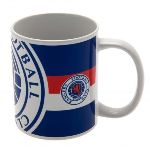 [해외]글래스고 레인저스 공식 머그컵 BC 축구 서포터 용품 [병행 수입품]/Glasgow Rangers Official Mug Cup BC Soccer Supporter Goods [Parallel import goods]