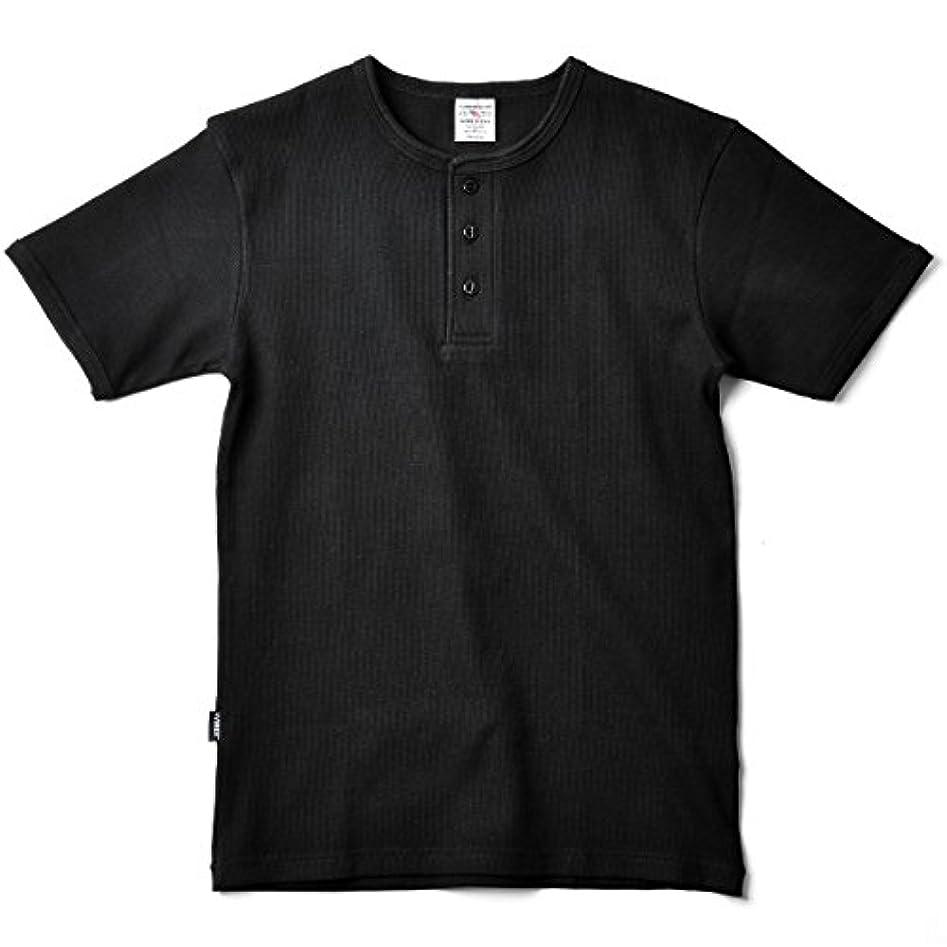 衝突するゾーン複製するAVIREX アビレックス デイリーウエア 半袖 ヘンリーネックTシャツ 6143504