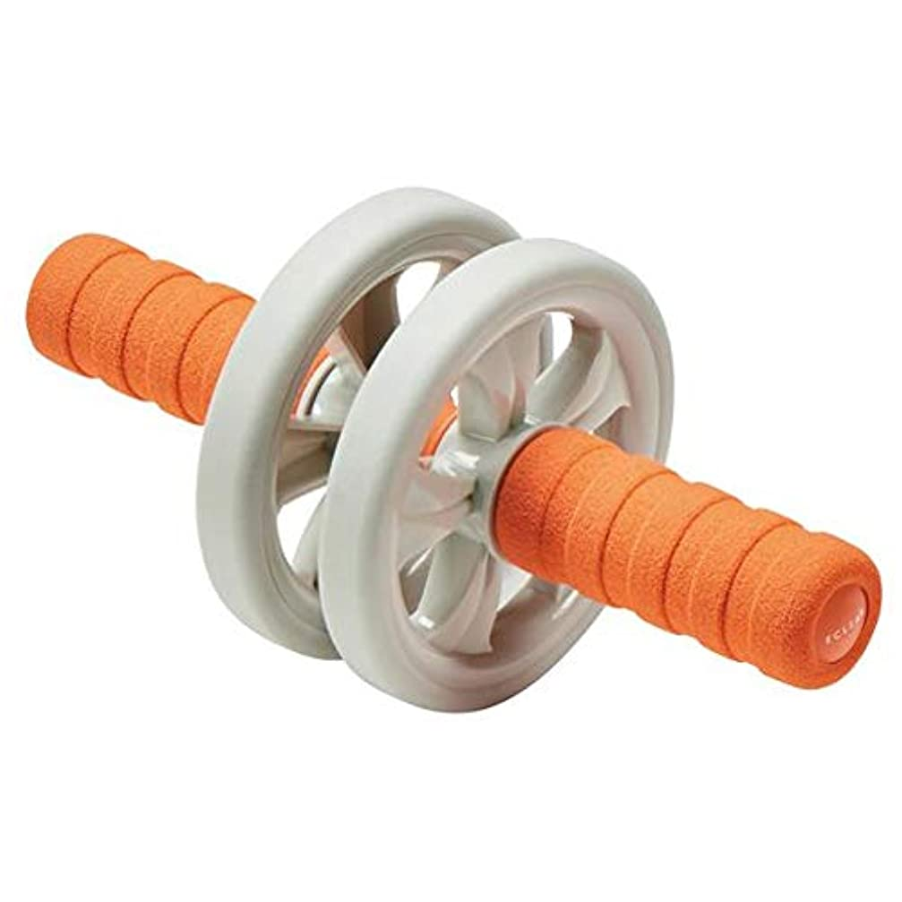 ピストン一緒メロディアスHCF-ARSDR(オレンジ) エクリア スポ-ツ 腹筋ロ-ラ- ショ-ト