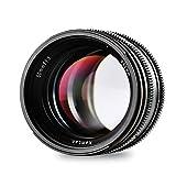 Kamlan 50mm f/1.1 マニュアルフォーカス マイクロフォーサーズ対応交換レンズ