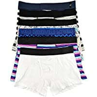 YiRing Mens Underwear Boxer Shorts Variety of Boxers Underpant for Men Boxer Briefs 5 Pack