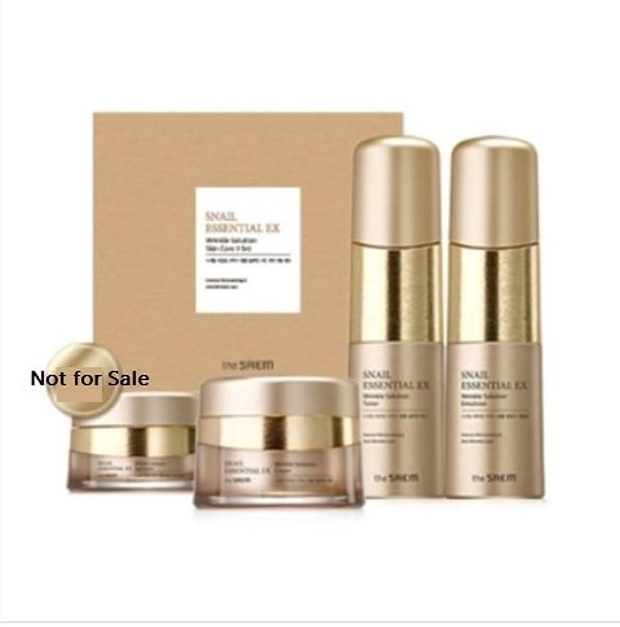 とは異なり異常なペチコート[ザセム] The Saem [スネイル エッセンシャル EXリンクルソリューション スキンケア 3種セット] (Snail Essential EX-Wrinkle Solution Skin Care 3Set) [...