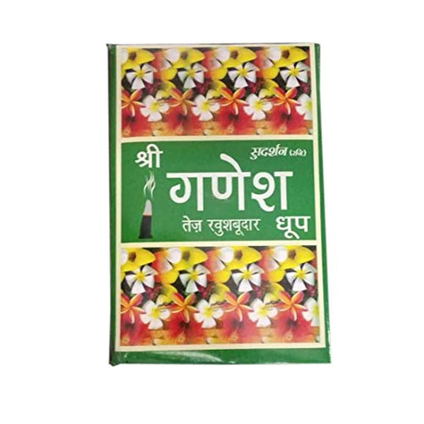 私の豆腐グローTotal Home :Sudarshan Shri Ganesh Highly Perfumed dhoop Fragrance for Positivity & Freshness Fragrance Dhoop Batti...