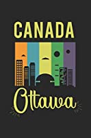 Canada Ottawa: diary, notebook, book 100 lined pages in softcover for everything you want to write down and not forget