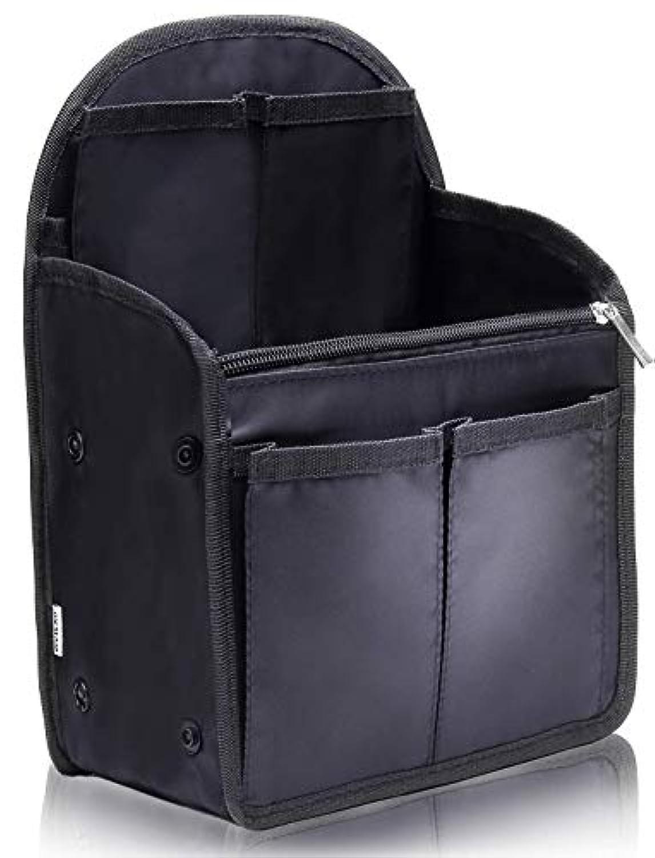 VILAU バッグインバッグ インナーバッグ リュック イン バッグ メンズ レディース 旅行バッグ キーリング付き バックインバック 27×20×13cm 【最新版】