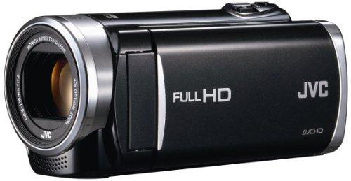 JVCKENWOOD JVC ビデオカメラ EVERIO GZ-E265 内蔵メモリー 32GB クリアブラック GZ-E265-B