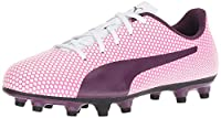 [プーマ] Kids Girls Spirit FG Jr Low Top Lace Up Soccer, Pink, Size 4.0 M US Big Kid [並行輸入品]