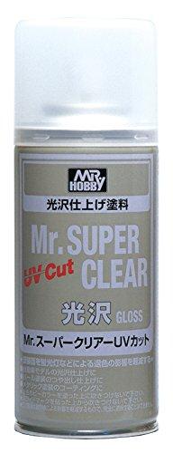 GSIクレオス Mr.スーパークリアー UVカット 光沢スプレー B522