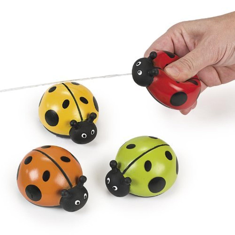 Plastic Ladybug Squirts (1 dz) [並行輸入品]
