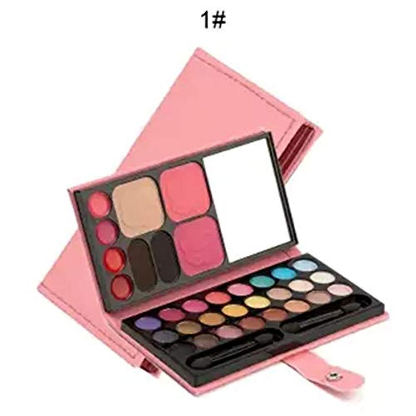 ACHICOO 化粧品セット 33色 アイシャドウ パウダー フィスメーク 口紅 化粧 道具 初心者 セット 韓国 ペリペラ 可愛い ピンク 高校生 女の子 ピンク
