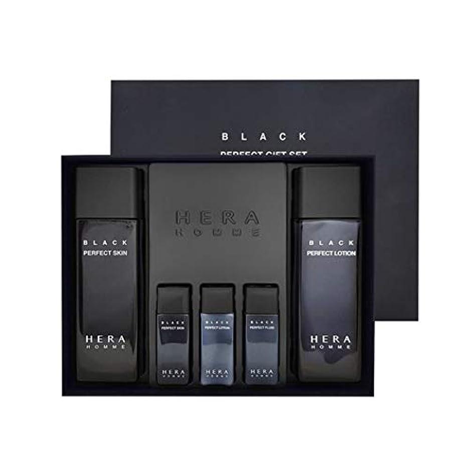 吹きさらし中世の十分にヘラオムブラックパーフェクトスキンローションセットメンズコスメ韓国コスメ、Hera Homme Black Perfect Skin Lotion Set Men's Cosmetics Korean Cosmetics...