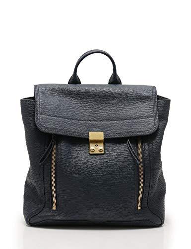(スリーワンフィリップリム) 3.1 Phillip Lim Pashli Backpack リュック バックパック レザー ネイビー AS15-0291SKC 中古