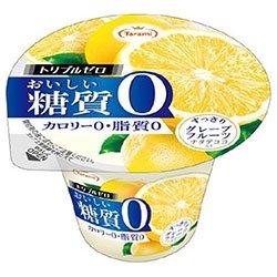 たらみ トリプルゼロ おいしい糖質0 グレープフルーツ 195g×18(6×3)個入×(2ケース)