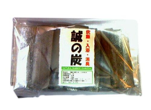 DOKA-SHOP 炊飯・入浴・消臭【 誠の炭(まことのすみ)】岐阜県東濃地方ですくすく育った孟宗竹を自然にかこまれた窯で焼き上げました。 200g