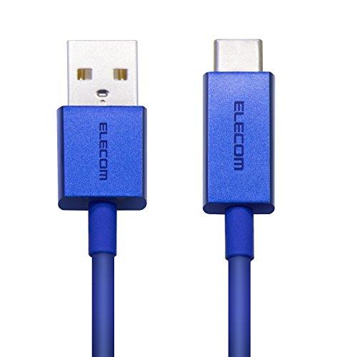 エレコム USB Type C ケーブル [ タイプC ] USB-C & USB-A カラー 準拠品 1.2m ブルーMPA-FACCL12BUの詳細を見る