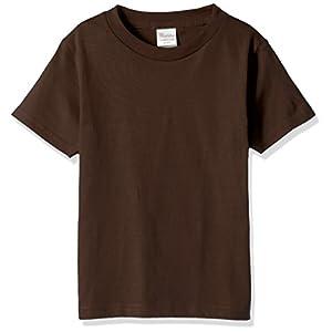 [プリントスター] 半袖 5.6oz ヘビーウェイトTシャツ 00085-CVT_K チョコレート 140cm (日本サイズ140相当)