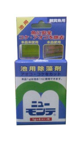 ニチドウ ニューモンテ 観賞魚用 1g×4