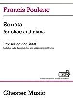 プーランク : オーボエ ソナタ 2004年改訂版/デモンストレーションMP3音源ダウンロードカード付き (オーボエ、ピアノ) チェスター出版