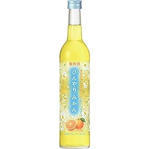キリン 蜜柑酒 ひんやりみかん びん 500ml