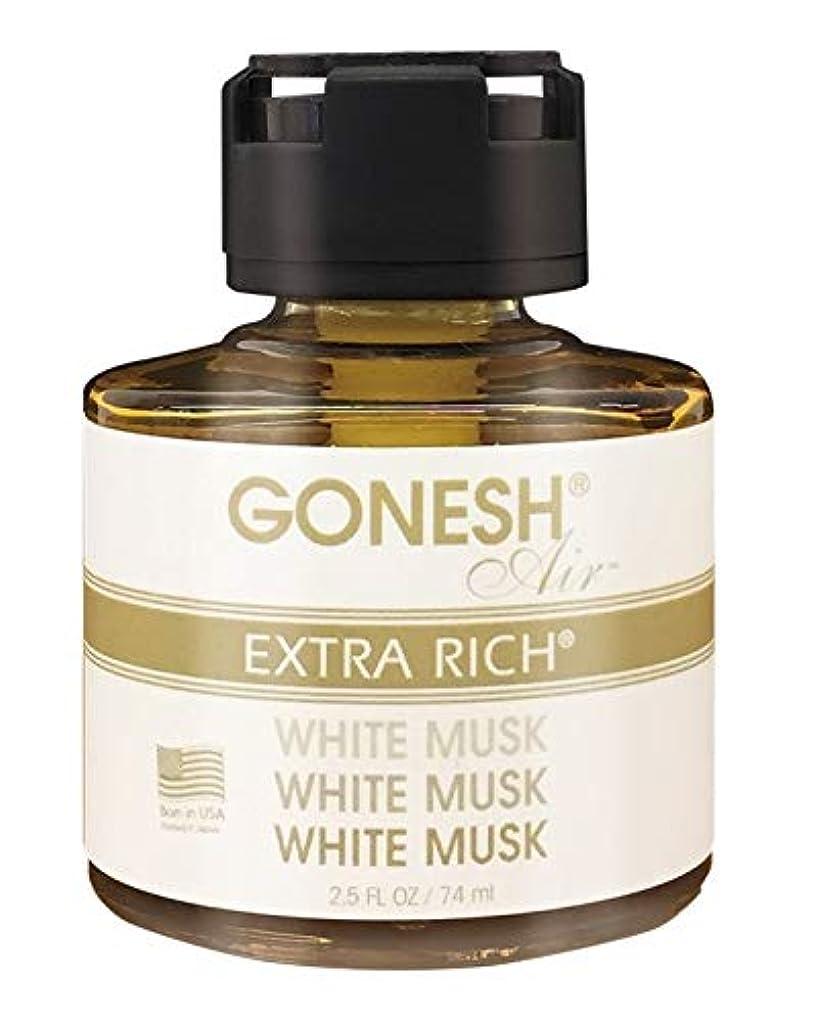 素晴らしいですすべき彼自身GONESH リキッドエアフレッシュナー ホワイトムスク