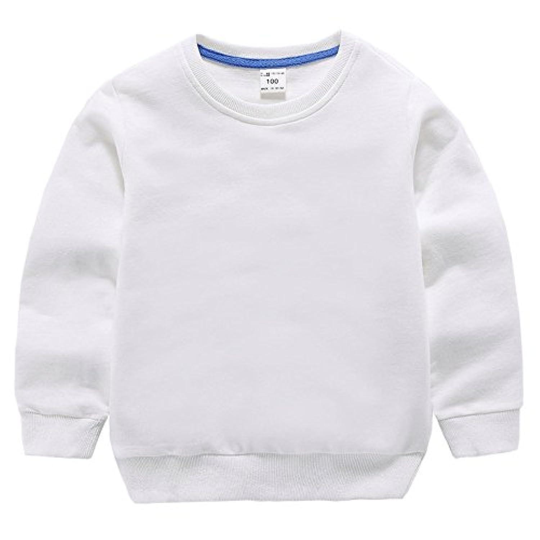 「Bidear」子供服 女の子 男の子 Tシャツ ロンT キッズ ベビー 丸くび 薄手 体操着 春夏秋 100%綿製品 7色 90~140cm