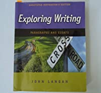 Exploring Writing: Paragraphs and Essays (Annotated Instructor's Edition) [並行輸入品]