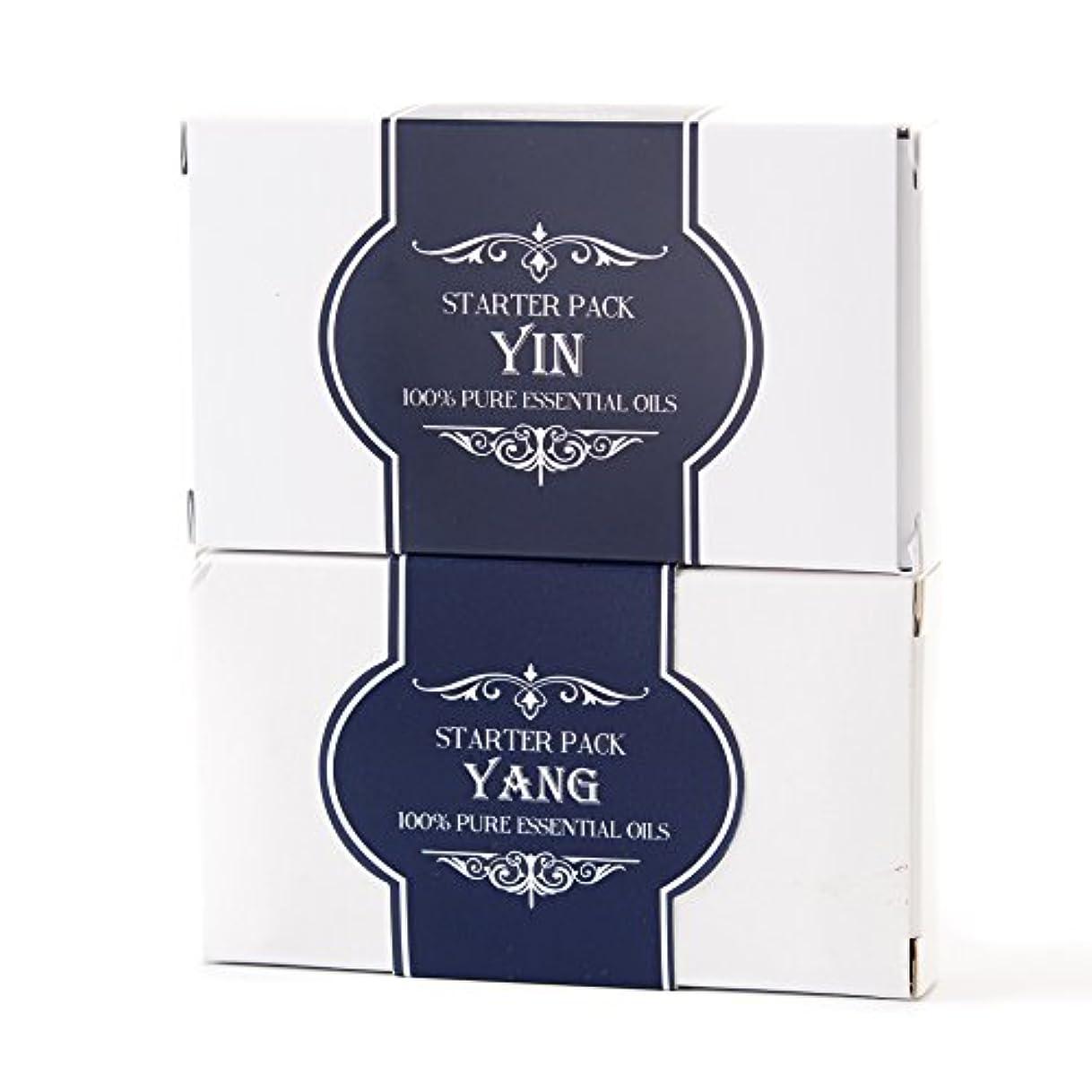 勧告クッション一回Essential Oils Twin Pack - Yin and Yang