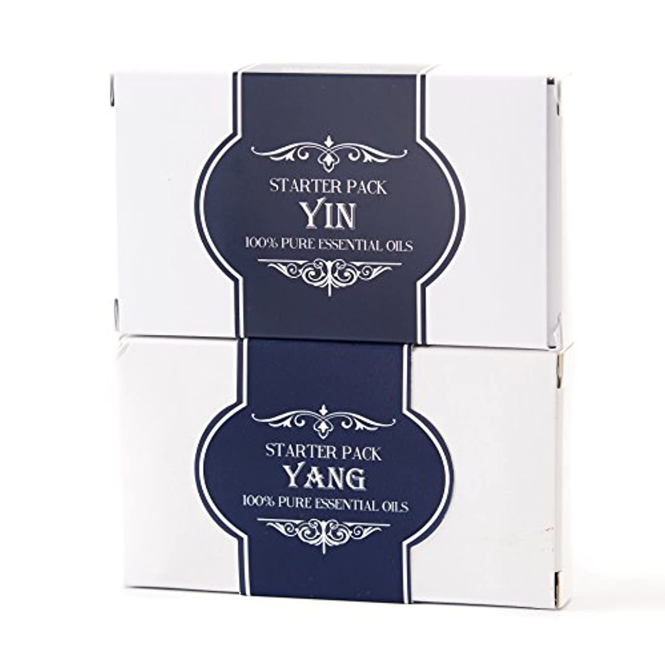 トレッド幅印刷するEssential Oils Twin Pack - Yin and Yang