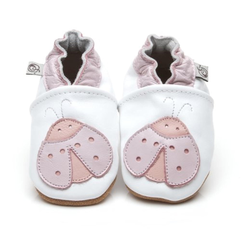 Soft Leather Baby Shoes Ladybird [ソフトレザーベビーテントウムシシューズ] 12-18 months (13.5 cm)