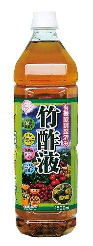 中島商事 トヨチュー 有機酸調整済み 竹酢液 1500ML