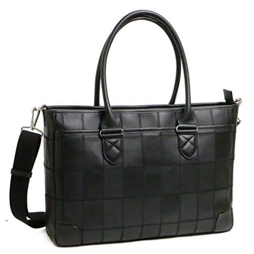 (トライオン) Trion パッチワークレザーの3wayビジネスバッグ