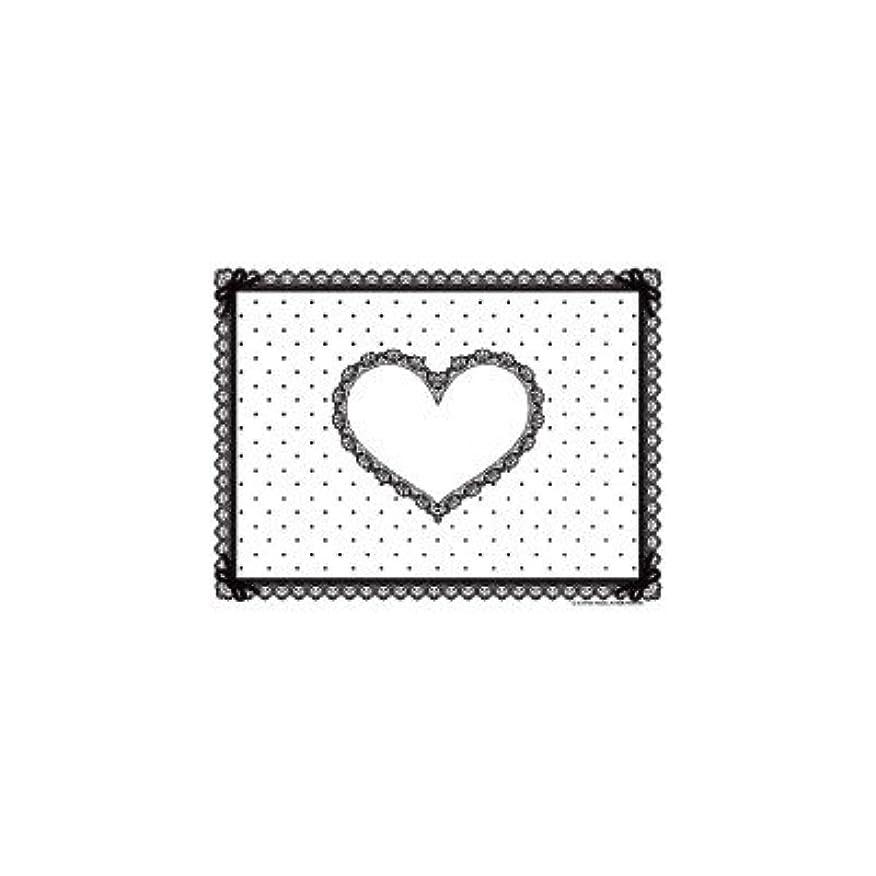 ブース霜コイルシリコン ネイルマット ホワイト×ブラック ミニサイズ