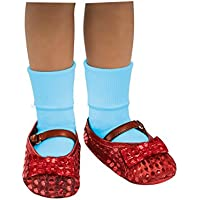 [ウィザードオブオズ]Wizard Of Oz The Dorothy Costume Sequin Shoe Covers Child 34048 [並行輸入品]