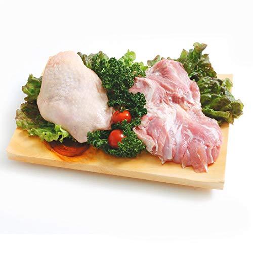 知床どり もも肉 2kg(1パックでの発送)(北海道産)【鶏肉】【鳥肉】北海道産の小麦や海藻粉末を飼料に配合しております。