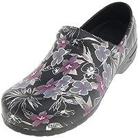 F Fityle Men's Women's Work Shoes, Slip Resistant Nursing Chef Clog s Shoes